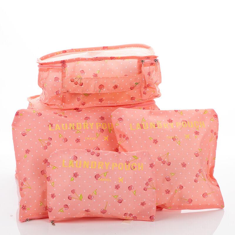 89fa99380dd9 Bőröndrendező táskák utazáshoz 6 db-os szett Katt rá a felnagyításhoz