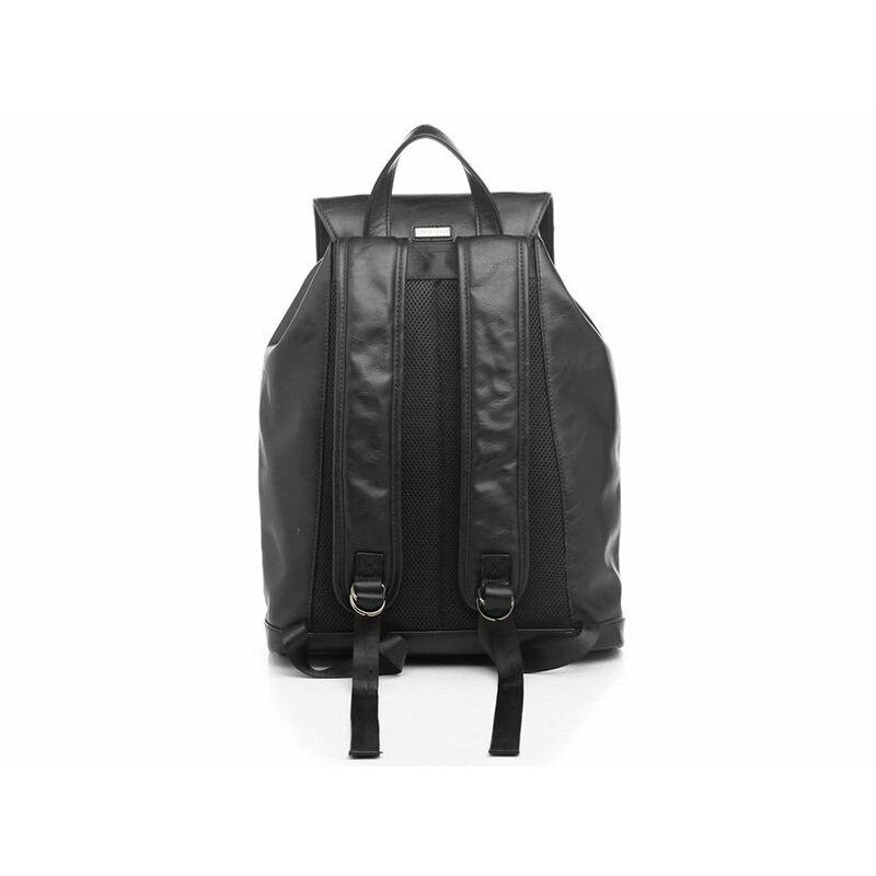 Bessie fekete Műbőr Hátizsák - Hátizsák - Bőröndöt 9edfe1264c