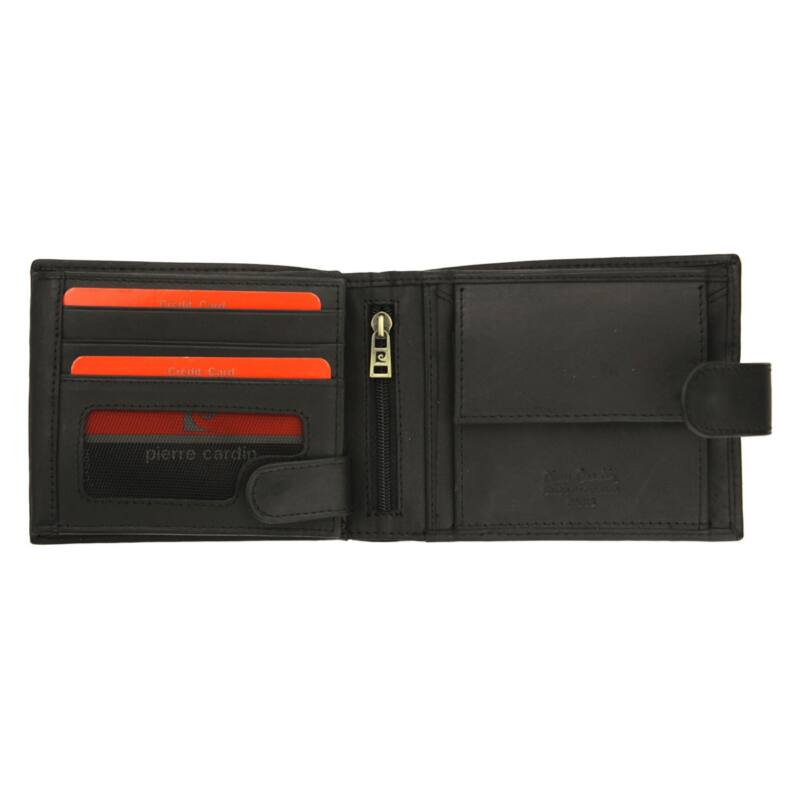 Pierre Cardin fekete Valódi bőr Pénztárca RFID - Pierre Cardin ... 73dfd05b82