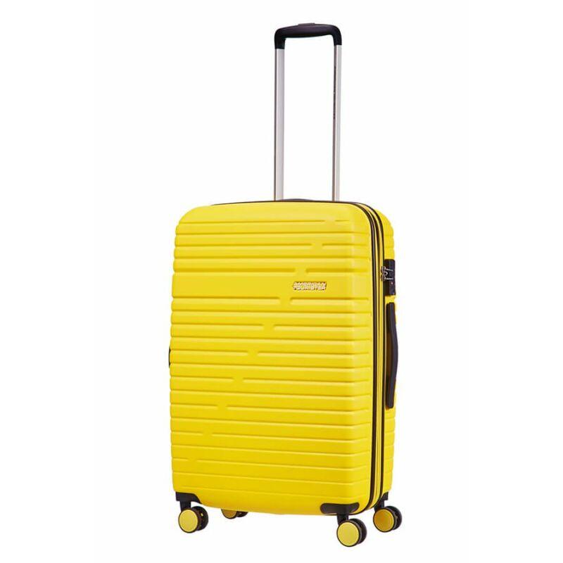 cc8262031550 American Tourister AERO RACER Bővíthető Spinner bőrönd 68 cm ...