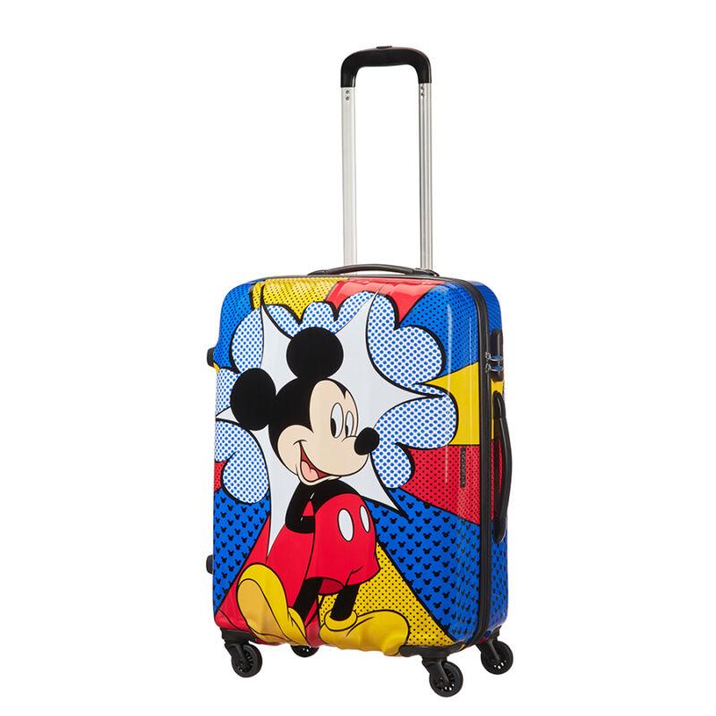 American Tourister Disney Legends Mickey Flash Pop Spinner bőrönd 65 ... 49e53ef06c