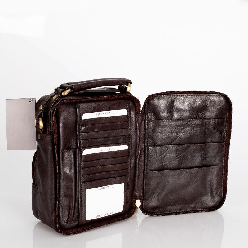 Rialto valódi bőr férfi oldaltáska  - Válltáska - Bőröndöt 6ebbda9852