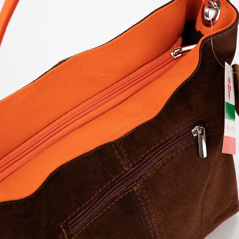 FAIRY Valódi velúrbőr női táska  - Oldaltáska - Bőröndöt 75a66f8183
