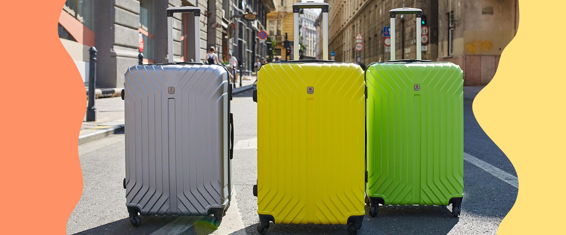 3 darabos bőröndszettek